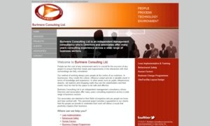 Burlmere Consulting Ltd. website image