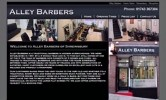 Alley Barbers Website
