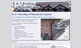 K and S Roofing Website